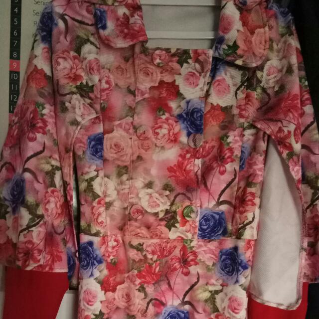 Dress Kimono Bungas Moeslem Wear