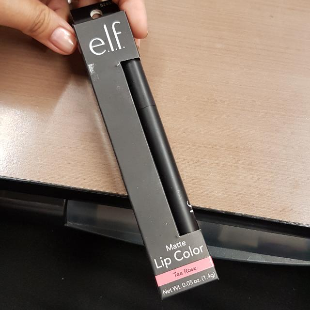 ELF Authentic Matte Lip Color Tea Rose