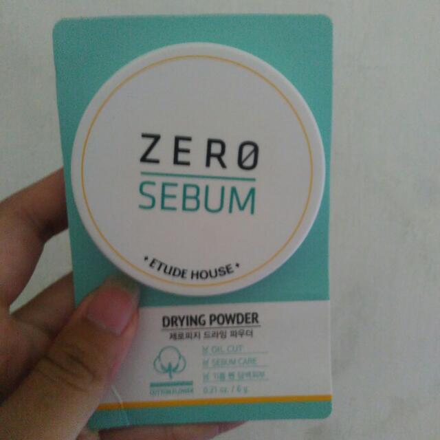etude zero sebum powder