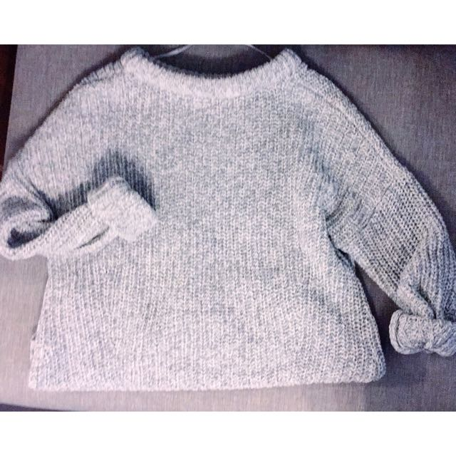 Ever new Grey Oversized Sweater