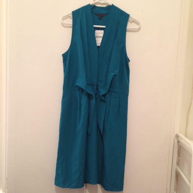 Felicity &Coco Teal Dress Brand New Small