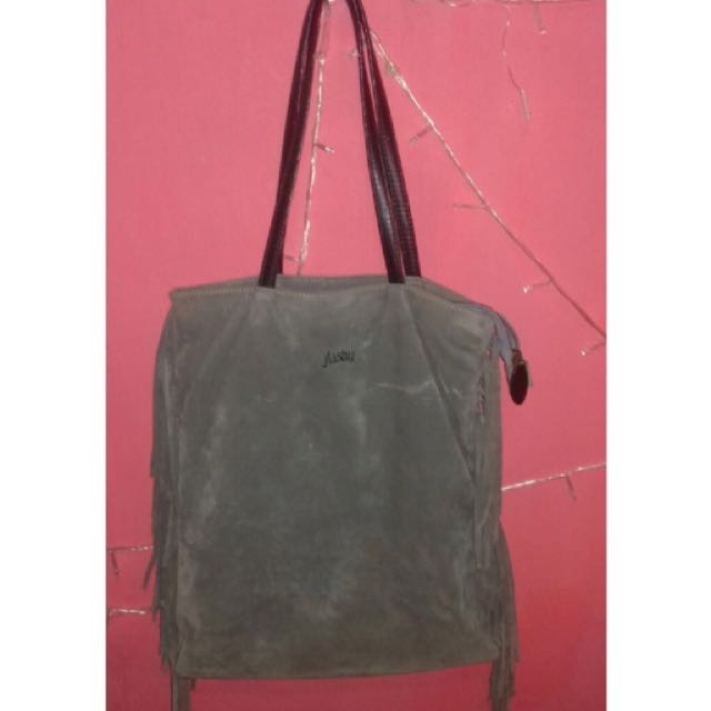 Flashy Bag Bludru Rawis