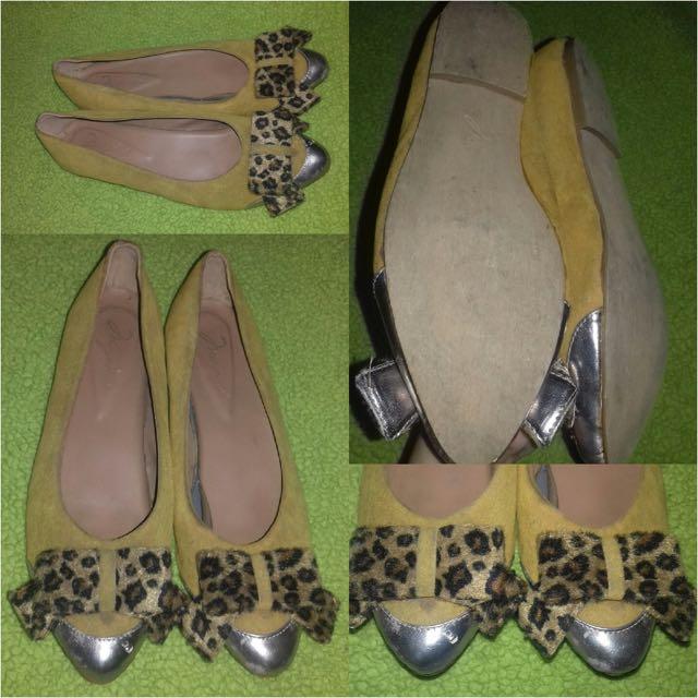 Flatshoes Bludru Macan
