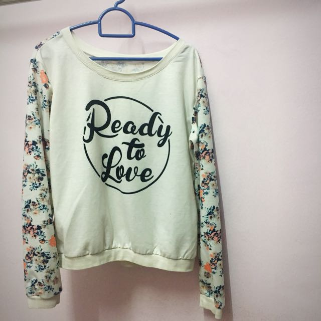 🎀Floral Oversized Pullover 🎀