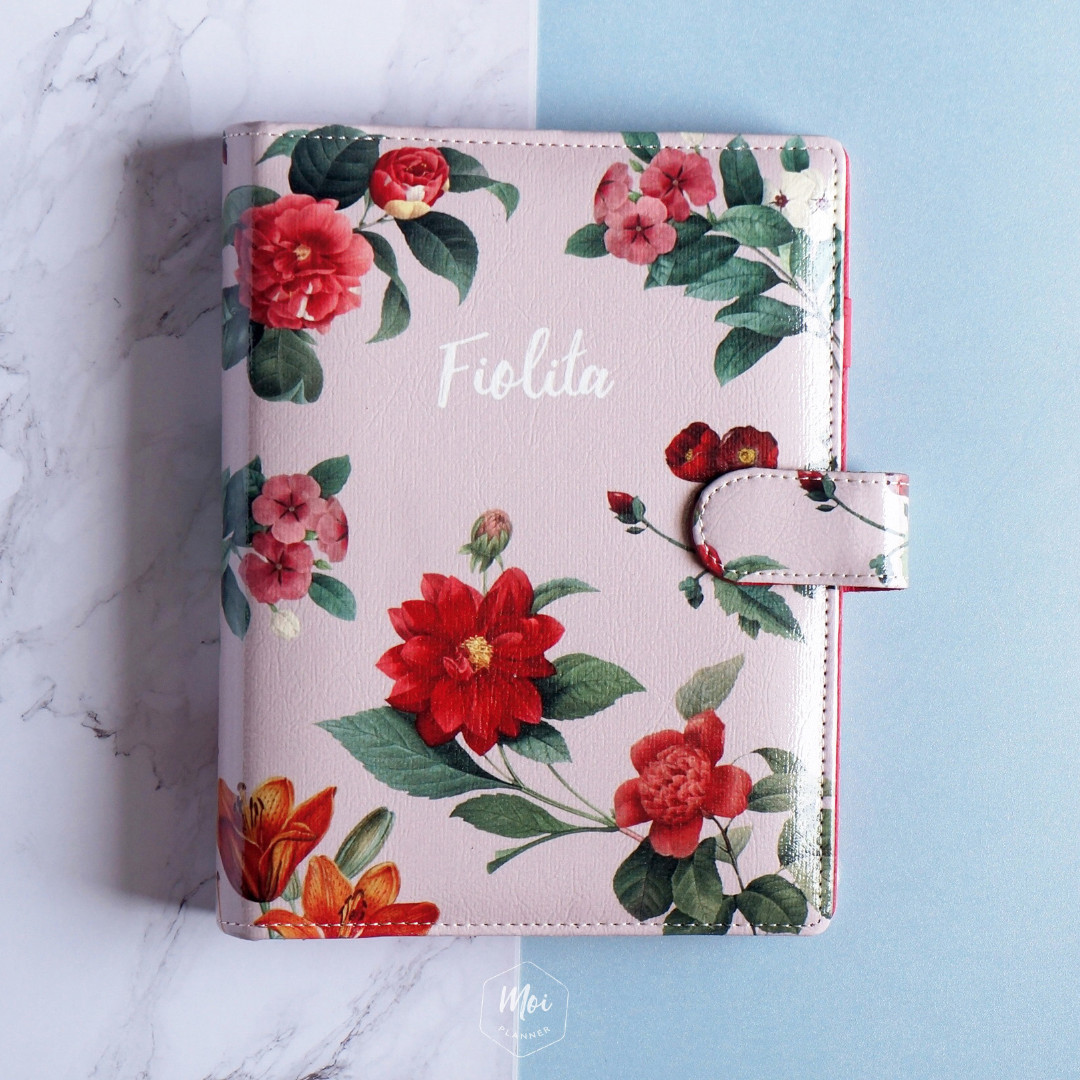 Floral Planner Customizable, Customizable Binder, Planner Kuliah
