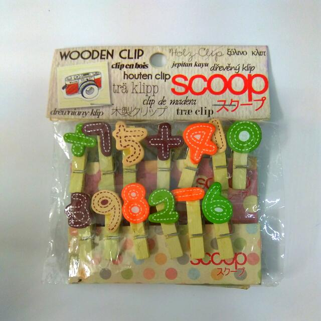 Free!!! Wooden Clip