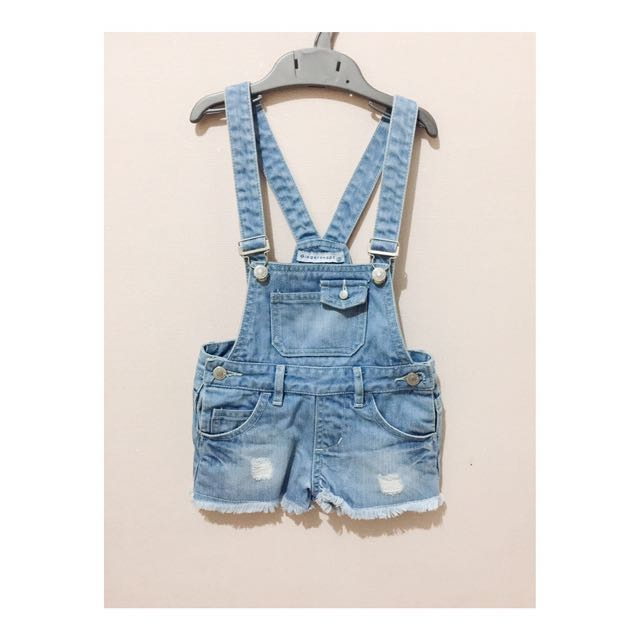 Gingersnaps Short Overall