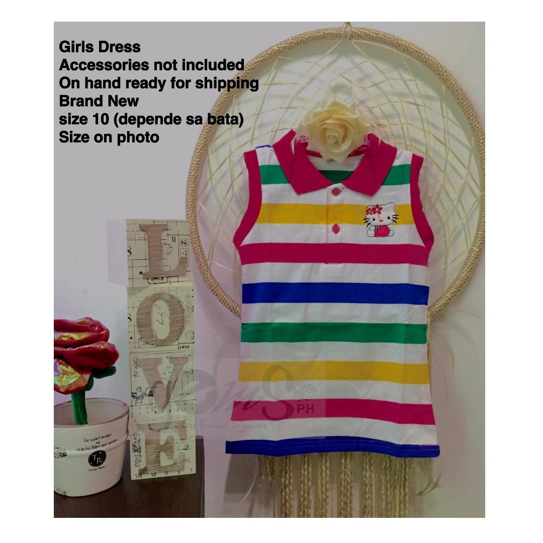 GIRLS Stripes DRESS