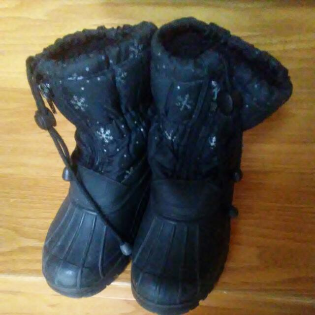 Girls Winter Boots Shoes Size 2