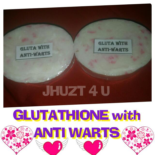 GLUTATHIONE with ANTI WARTS