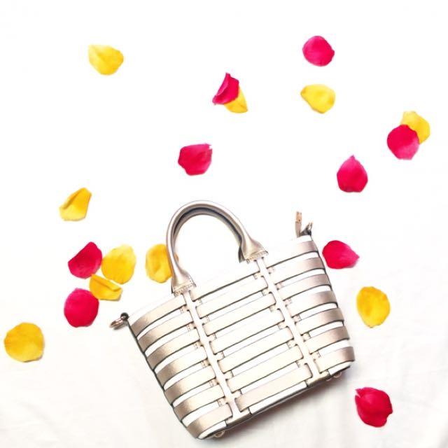 Gold Bag / Hand Bag Murah / Tas Stradivarius / Tas Bershka / Tas Hnm / Tas Hermes / Fendi Murah