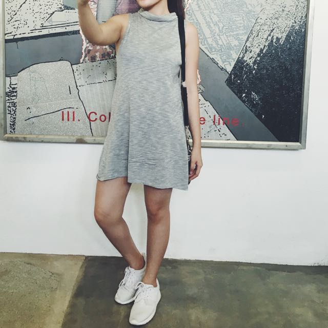 Gray Turtle Neck dress