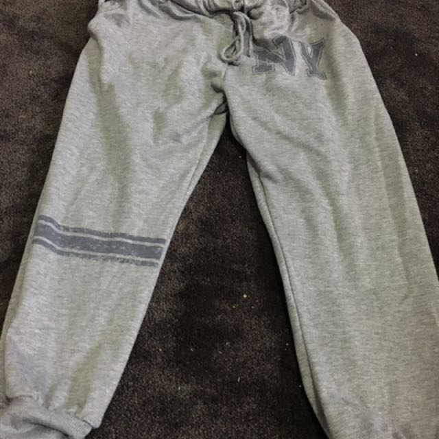 Grey Ice Brand 3/4 Tracksuit Pants