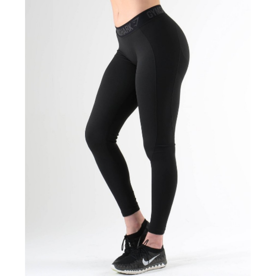 Gymshark Flex Leggings - Small/Black