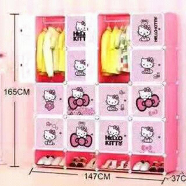 Hello Kitty DIY Cabinet😻