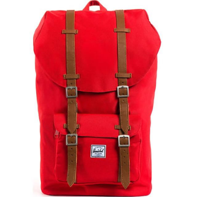 Herschel Supply Little America Red Backpack 18L