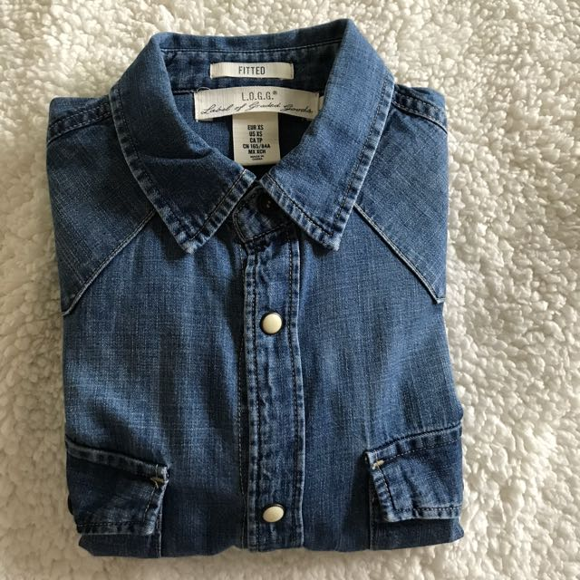 H&M Long sleeve Denim