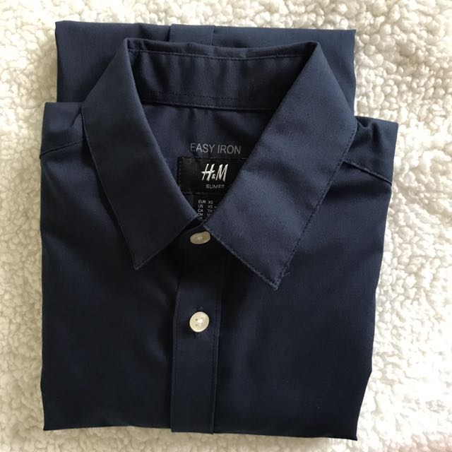 H&M Midnight blue long sleeve