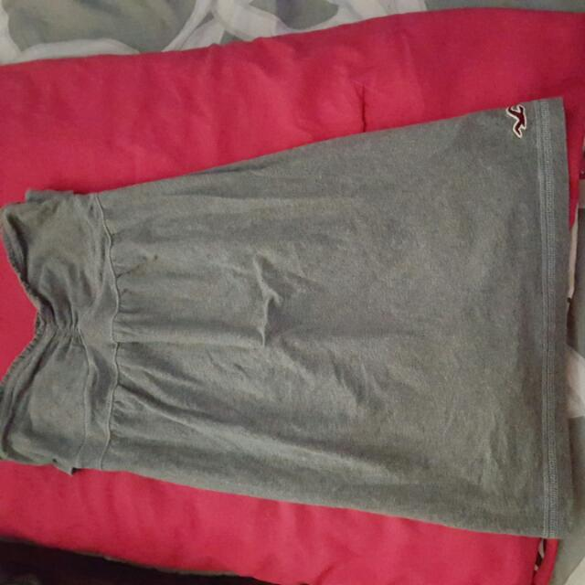 Hollister Short Grey Dress