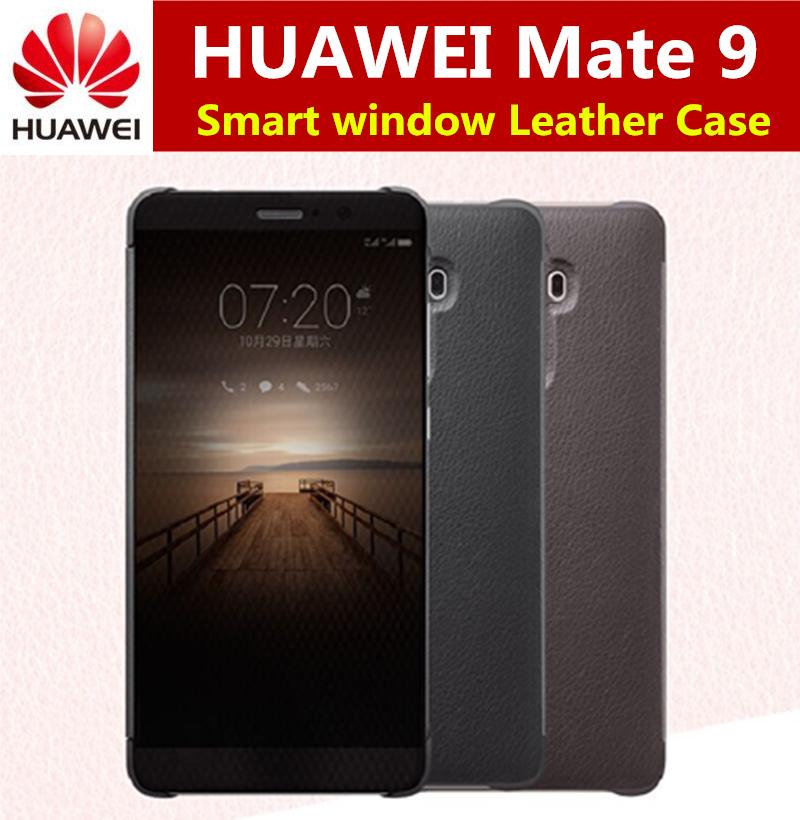 uk availability cdd99 9fc44 Huawei Mate 9 Original Smart View Flip Case