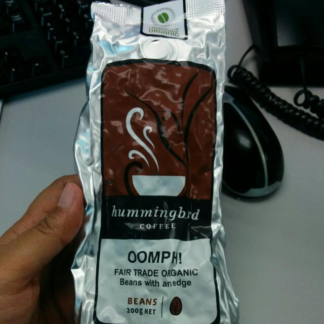 Hummingbird Coffee Beans Oomph! Fresh From New Zealand
