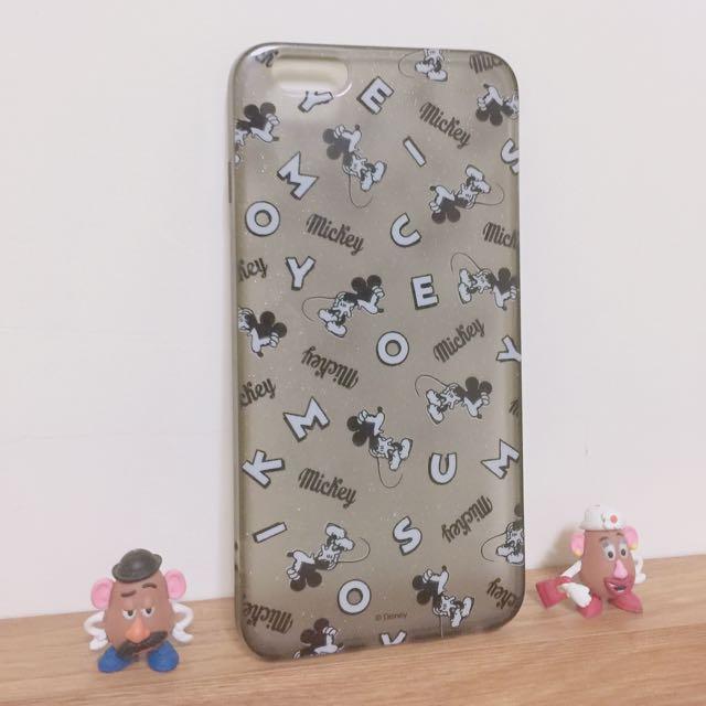 ✌🏻️私物-正版米奇I Phone6 Plus手機軟殼 #迪士尼 #Mickey #iphone6splus