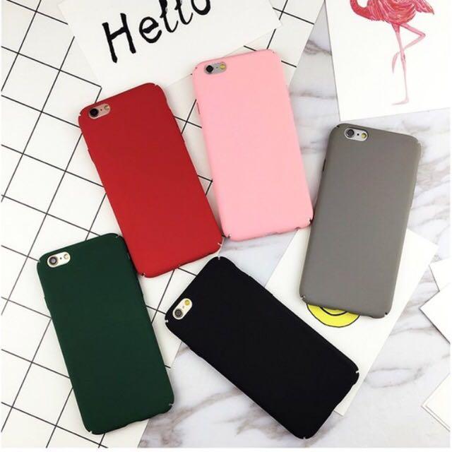 📌素色iphone手機殼
