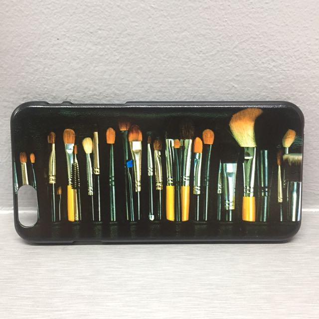 iPhone 6/6s Hard Case - Makeup Brush Design