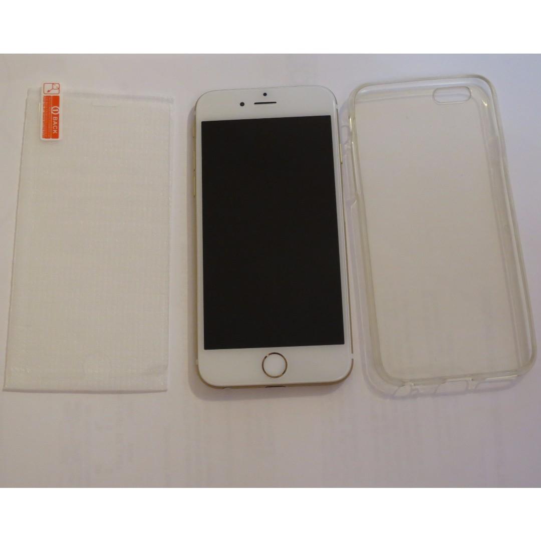 iPhone 6 unlocked Gold 64gb