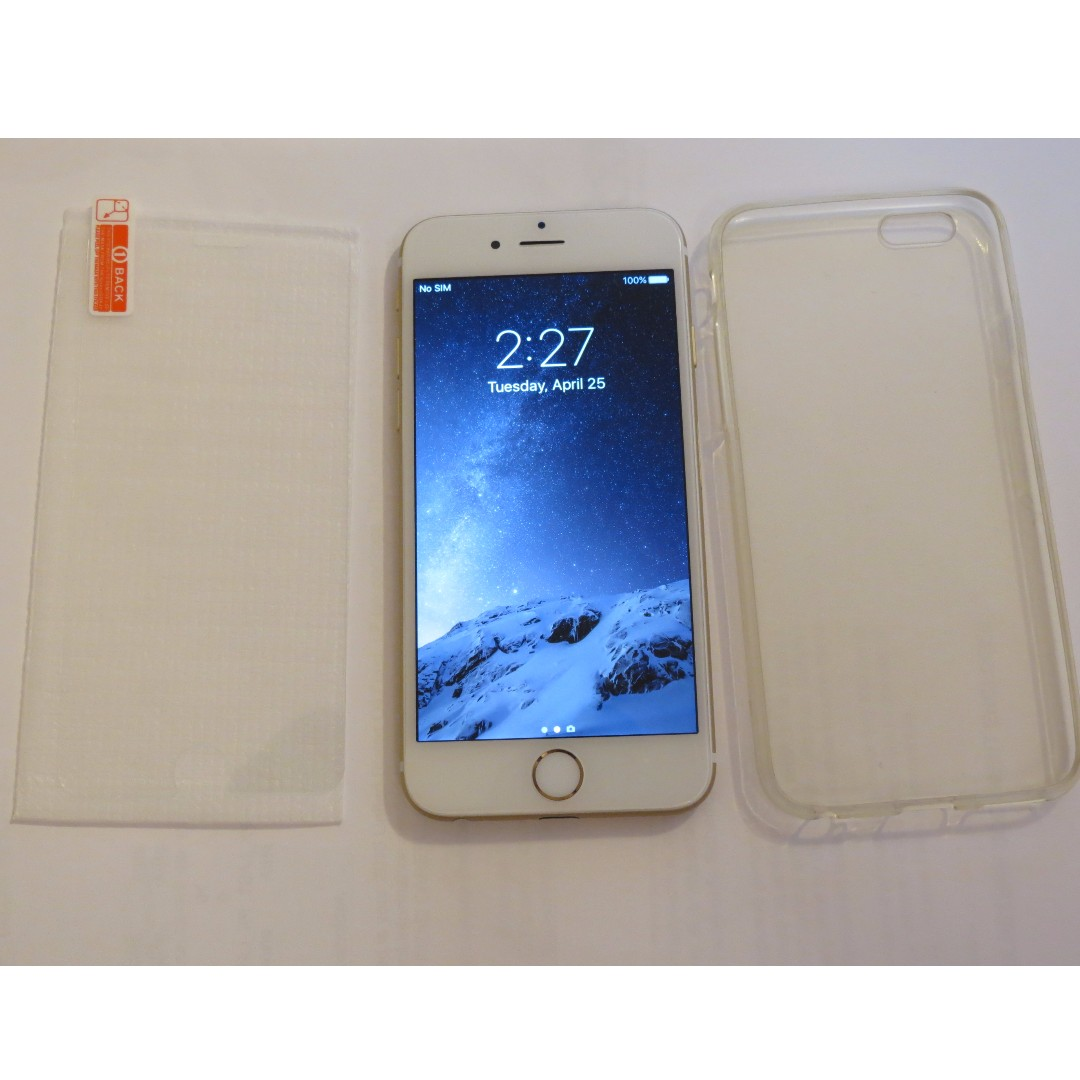 iPhone 6 unlocked Gold 64gb