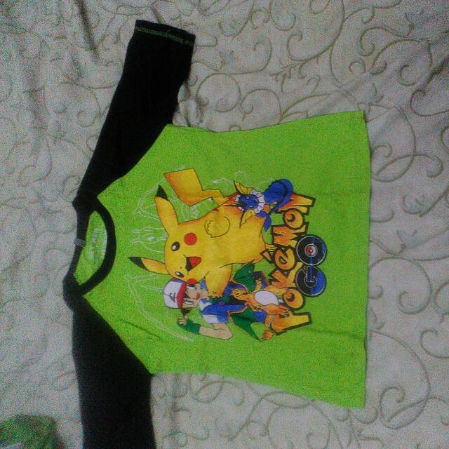 Kaos Pokemon Anak Untuk Anak 5 Thn