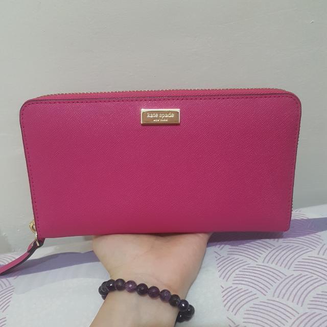 Kate Spade Wallet Pink Ori