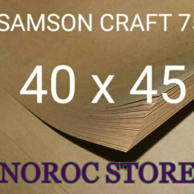 Kertas Samson 40x45/Kertas Packing