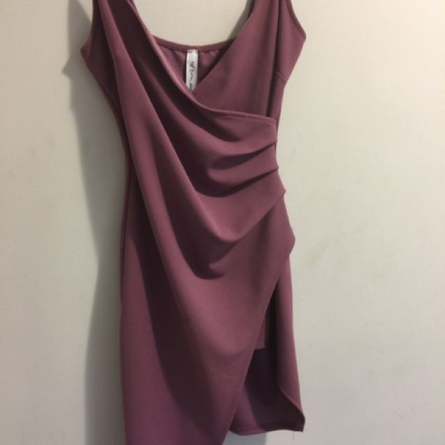 Kylie dress from Shop m (dark pink)