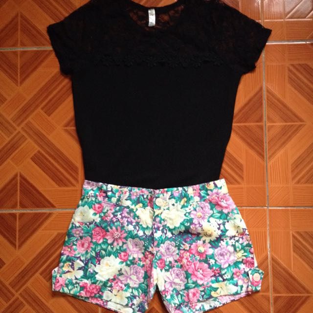 Lace top terno 💕