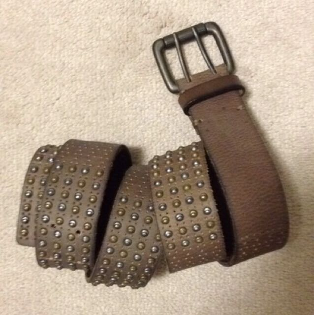 Liebeskind Berlin Leather Studded Belt