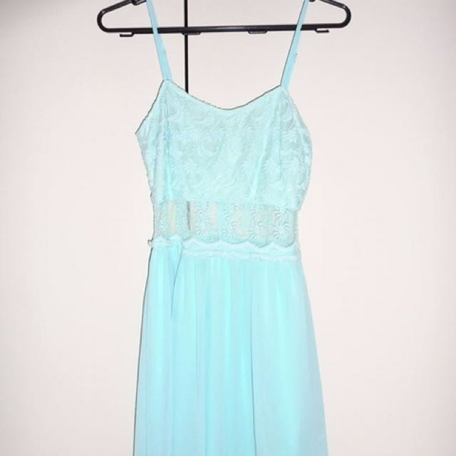 Light Blue Cocktail/Party/Short Evening Dress