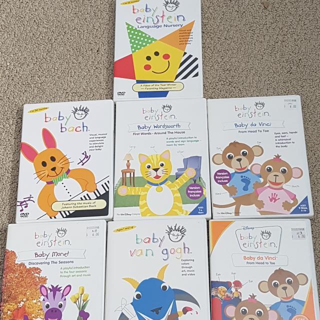 Lot Of Baby Einstien Dvds