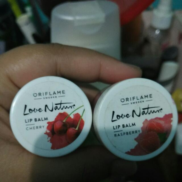 Love nature Lip Balm By Oriflame