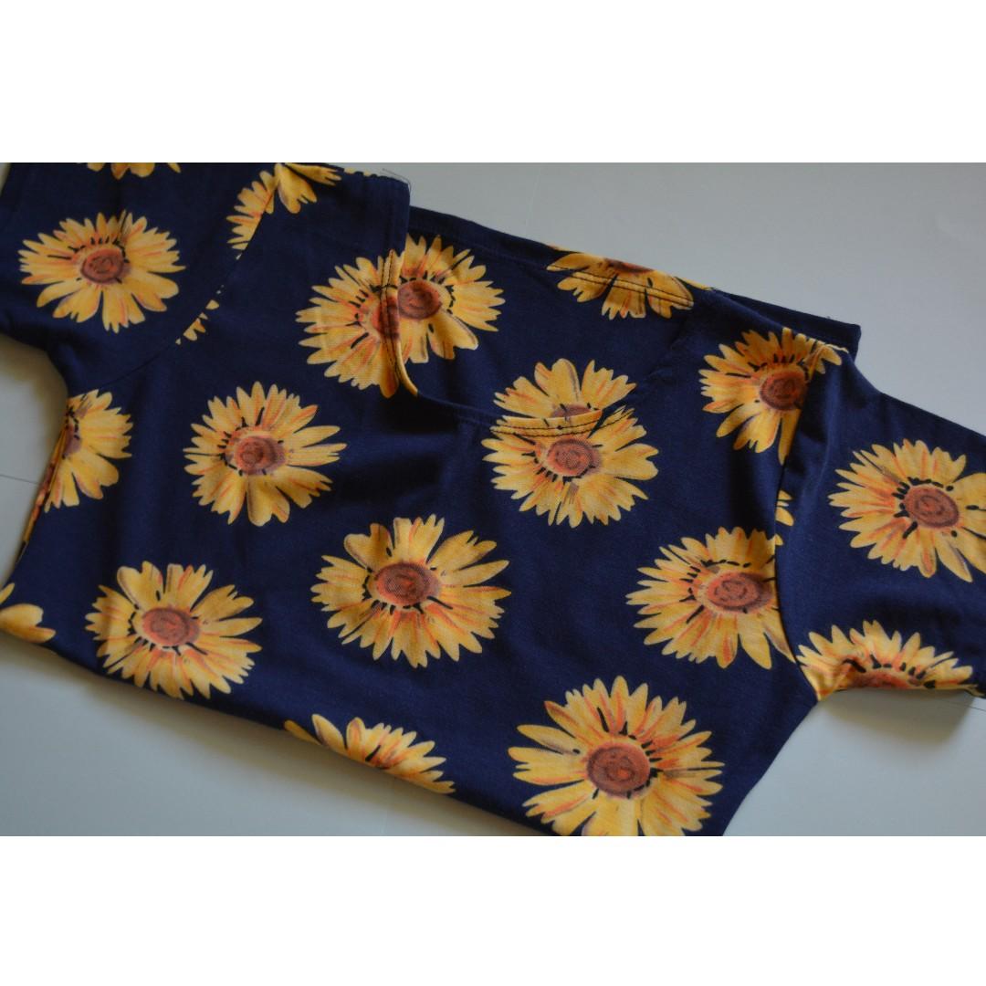 Lowback sunflower shirt