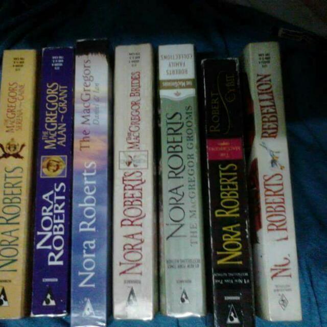 MacGregor Series By Nora Roberts