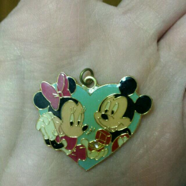 Mickey & Minnie Mouse Proposal Necklace Pendant