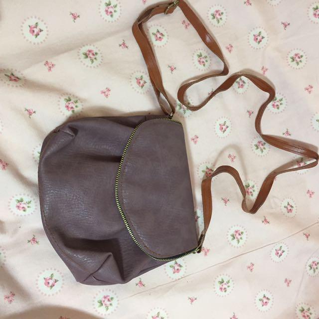 mini bag purple
