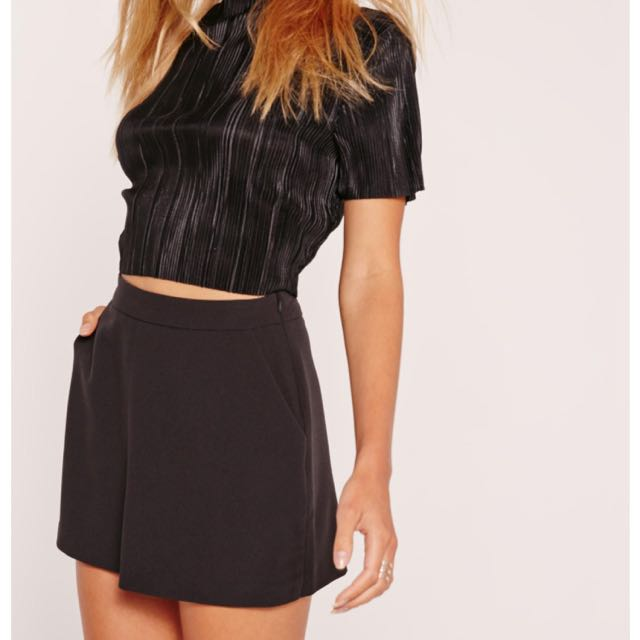 Missguided High Waisted Classic Skort