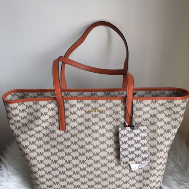 9de42c7905f5 MK Emry Large Top Zip Tote Bag