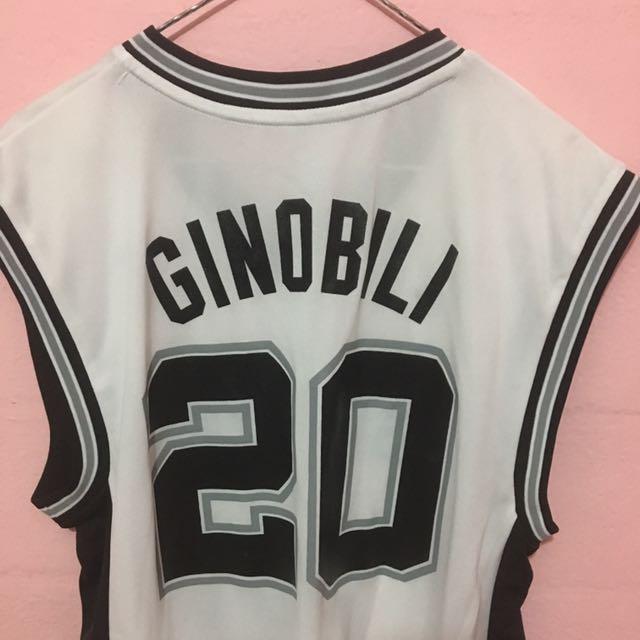 huge discount d7216 bd31c NBA Authentic SA Spurs Manu Ginobili Swingman Jersey, Sports ...