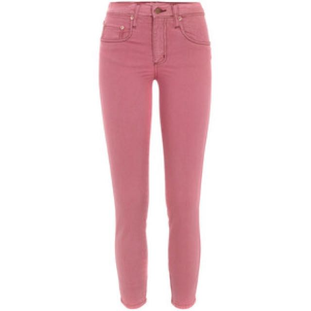 Nobody Skinny High Waisted Crop Jeans
