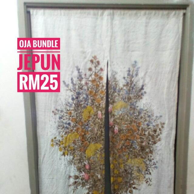 Noren Langsir Jepun Pintu Home Furniture Décor On Carou