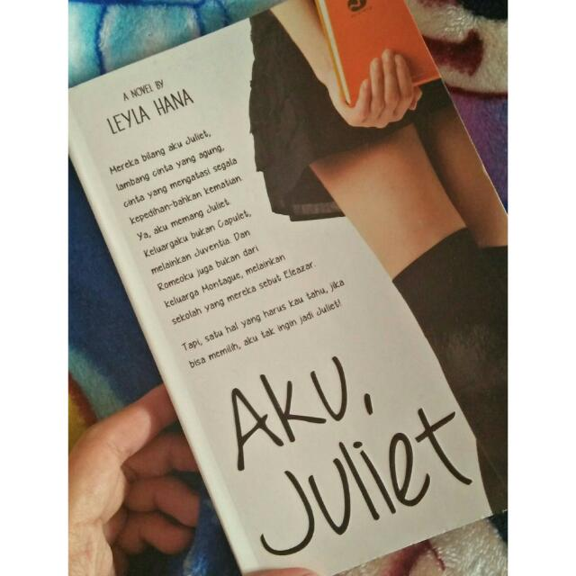 "Novel ""aku Juliet"""