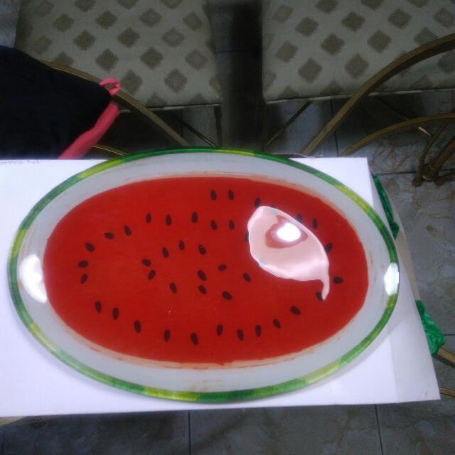 Oval Ceramic Serving Plate